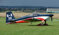 G-XIII @ EGCJ - Visitor to the 2008 LAA Regional Fly-in at Sherburn