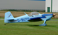G-BUTD @ EGCJ - Visitor to the 2008 LAA Regional Fly-in at Sherburn