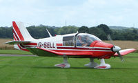 G-SELL @ EGCJ - Visitor to the 2008 LAA Regional Fly-in at Sherburn