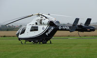 G-YPOL @ EGCJ - Visitor to the 2008 LAA Regional Fly-in at Sherburn