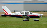 G-CBGC @ EGCJ - Visitor to the 2008 LAA Regional Fly-in at Sherburn - by Terry Fletcher