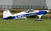 G-NPKJ @ EGCJ - Visitor to the 2008 LAA Regional Fly-in at Sherburn