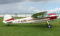 F-AZRE @ EGCJ - Visitor to the 2008 LAA Regional Fly-in at Sherburn