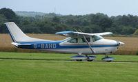 G-BAHD @ EGCJ - Visitor to the 2008 LAA Regional Fly-in at Sherburn