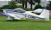 G-CDMN @ EGCJ - Visitor to the 2008 LAA Regional Fly-in at Sherburn