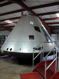 BP-0000 @ 50F - Apollo Command Module training mockup boilerplate at Pate Museumof Transportation near Cresson, TX - by Zane Adams