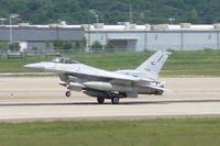 3080 @ NFW - UAE (3080) F-16E Block 60 Landing NASJRB Ft. Worth. - by Zane Adams