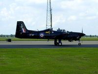 ZF317 @ EGXU - Tucano from 1FTS - by Mike stanners