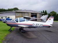 D-EFJG @ EGBM - Bolkow Bo.209C Monsun 160RV, - by chrishall