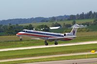 N623AE @ CID - Just rotating on Runway 9 - by Glenn E. Chatfield