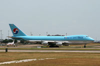 HL7403 @ DFW - Korean Air Cargo departing DFW
