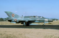 29 @ LBPG - In Bulgaria the MiG-21 is still going strong. - by Joop de Groot