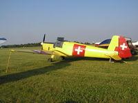 N94245 @ KOSH - EAA AirVenture 2008. - by Mitch Sando