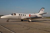 9A-CHC @ VIE - Cessna 500 Citation 1 - by Yakfreak - VAP