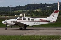 HB-GPD @ ZRH - Beechcraft 58P Pressurized Baron - by Juergen Postl