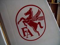 N19143 - Fairchild Logo - by Tom Downey