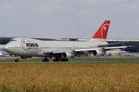 N624US @ VIE - Boeing 747-251B