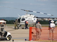 N107PD @ KOFF - OPD HELLICOPTER AT OFFUTT AFB 2008 - by Gary Schenaman