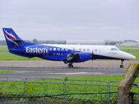 G-MAJL @ EGNR - Eastern Airways - by chris hall