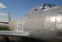 51-2826 @ KONO - Parked at Ontario Airport. Korean War combat veteran. Part of Project GunVal. Part of the Merle Maine collection - by Bluedharma
