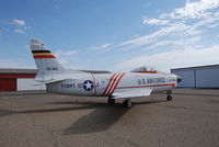 53-0841 @ KONO - Sabre Parked at Ontario Airport. Part of the Merle Maine collection - by Bluedharma