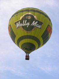 G-BVZT - Molly Mae balloon at Northampton - by Simon Palmer