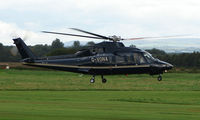 G-VONA @ EGCB - Sikorsky S-76 A at Manchester Barton