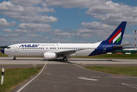 HA-LOU @ BUD - Malev Boeing 737-800