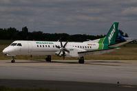 ER-SFA @ LHBP - Moldavian Airlines Saab 2000