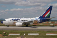 HA-LOG @ LHBP - Malev Boeing 737-600 in special colors