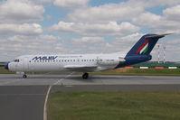 HA-LME @ LHBP - Malev Fokker 70