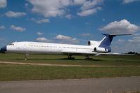 HA-LCA @ BUD - ex Malev Tupolev 154
