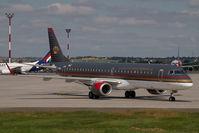 JY-EMG @ LHBP - Royal Jordanian Embraer 195
