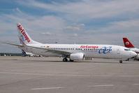EC-JHL @ LHBP - Air Europa Boeing 737-800