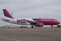 HA-LPE @ BUD - Wizzair Airbus 320