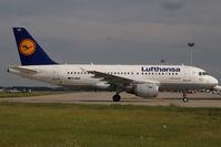 D-AILK @ LHBP - Lufthansa Airbus A319