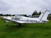 G-AZYD @ X3SI - Staffordshire Gliding Club, Seighford Airfield - by chris hall