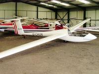 G-CHUN @ X3SI - GROB G102 ASTIR CS JEANS, Staffordshire Gliding Club, Seighford Airfield - by chris hall
