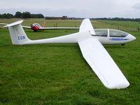 BGA2676 @ X3SI - Grob G-103 Twin II, Staffordshire Gliding Club, Seighford Airfield - by chris hall