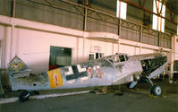 N109ME @ FTW - CAF Buchon (Spanish built Me-109) After returning from Europe for teh movie The Hindenburg