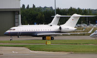 D-ADNB @ EGGW - Global Express at Luton in Aug 2008 - by Terry Fletcher