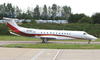 9K-PAA @ EGGW - Kuwait registered Embraer Legacy 600 at Luton in Aug 2008 - by Terry Fletcher