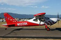 N122SK @ KAWO - Arlington fly in