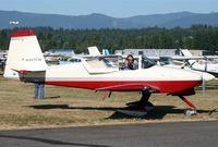 N987CW @ KAWO - Arlington fly in