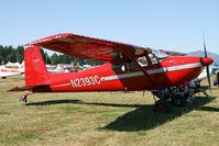 N2393C @ KAWO - Arlington fly in