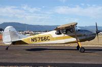 N5756C @ KAWO - Arlington fly in