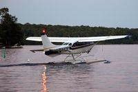 C-GZWW - Just before take off from Bala Bay Ontario - by B Hunter