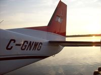 C-GNWG - A nice tail shot at 530 am - by Duncan Danard