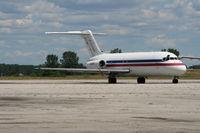 N112PS @ YIP - Sky Way DC-9-15F