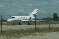 N240CK @ YIP - Kalitta Charters Falcon 20